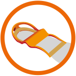 Crispi Crossbow Frame Logo